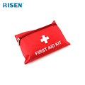 Wholesale Red Nylon Medical Waterproof Mini First aid Kit Bag with Accessories First Aid Box Emergency First Aid Kit