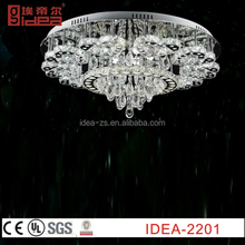 modern crystal ball pendant light,modern colored glass chandeliers,Italy modern style led crystal pendant lighting
