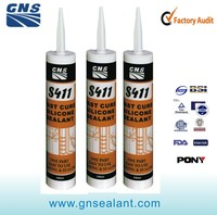 easy using caulking natural cure spray paint silicone sealant
