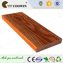 2015 hot sale solid groove China decking board wpc