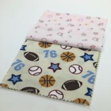 Textiles flannel 100% cotton fabric for baby bedding sets