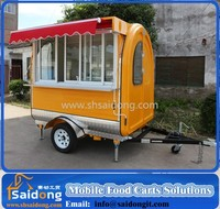 Shanghai Saidong Mobile food cart with kitchen equipment installing