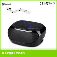 2015 new products AJ81 touch screen bluetooth mylar speaker