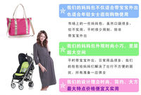 Hot Sell Multi Function Large Baby Tote Shoulder Diaper Bag Nappy Bag Fashion Mummy Mother Bag 8 Color