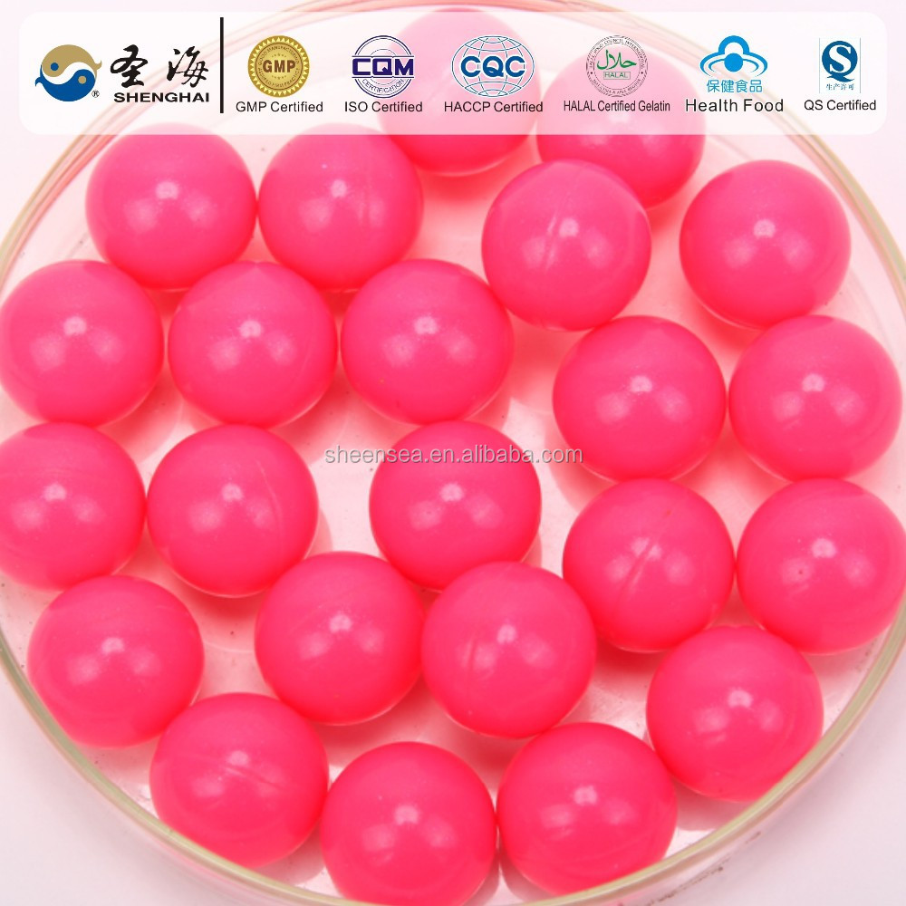 Gelation caliber paintballs made in China