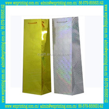 alibaba china custom made laser paper wine glass gift bags