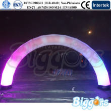Glow Inflatable Arch Promotional Lighted Inflatable Arch led inflatable arch