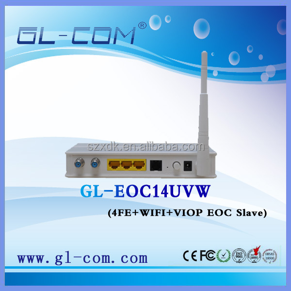 WIFI VOIP EoC Slave Qualcomm AR7410 chipset Networking Equipment Network Roter