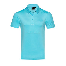 wholesale custom golf tshirt casual Golf mens blank polo t shirt with embroidery Logo