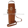 Classical Style Pu Leather Single Bottle