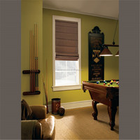 Manual system roman shades blinds