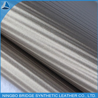 artificial embossed leather water ripple stretched fabric for sofa&home furniture