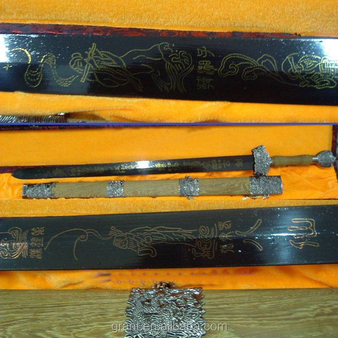 Quality Chinese Tai Chi Jian sword for Martial Arts ready for cutting practice