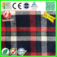Popular new style cheap yarn dyed flannel fabric Factory