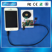 Light activated voice recording module