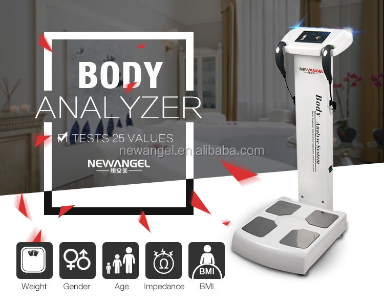 Human body composition analyzer Professional body fat analyzer with printer