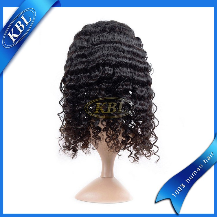 Finest quality indian remy hair two tone color full lace wigs