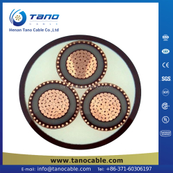 With CE ISO SGS ISO IAF CE 3 core power cable IEC china dc 5525 power cable