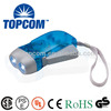 2 led hand light dynamo torch for emergency hand lighting