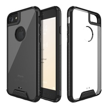 Shock Absorption TPU Bumper Clear Protective Cases for iphone 7