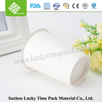 Double Pe coated paper cup blank for yogurt