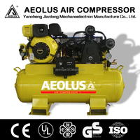 Air tools,Diesel engine Air Compressor JL3065 Cylinder 65*3 120L tank with CE air compressor