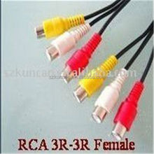 rca cable jack / plug and rca jack /pin jack
