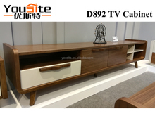 MDF home furniture lcd tv wall units designs D892