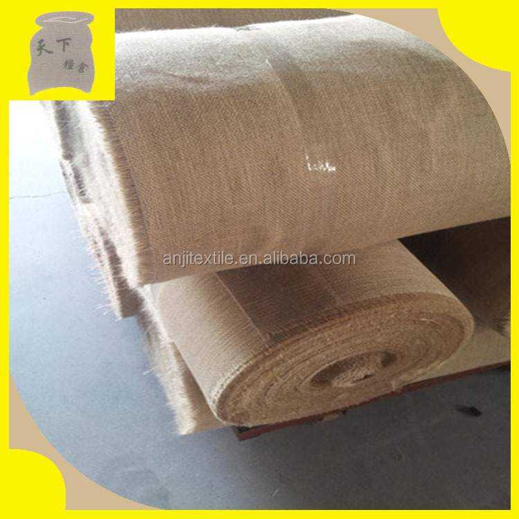 Jute Fabrics/natural jute rolls for sale Hessian jute