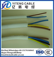 3 core 1.5mm 2.5mm flexible electric wire