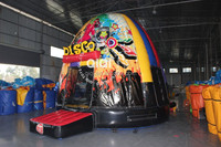 The most popular disco dome/bounce house for kids party inflatable bouncer for toddlers