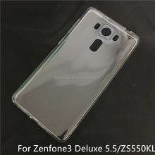 Soft TPU Silicon Transparent Clear case for Asus zenfone 3 deluxe 5.5/ZS550KL