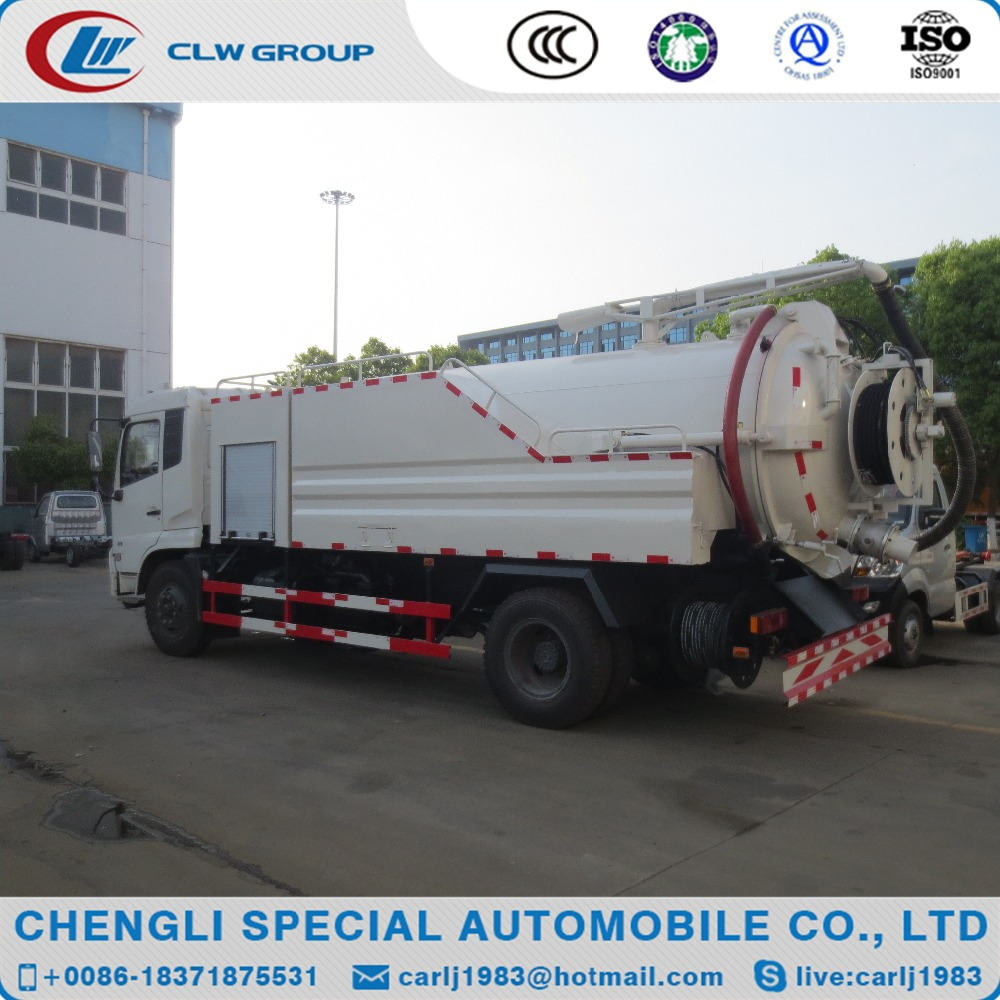 Low price 8000 liters drain pipe cleaner truck for sale
