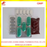 export animal drug 150mg levamisole tablet for cow medicine with containers