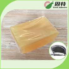 Hot melt adhesive for lamination of bonnet and dashboard insulation pad