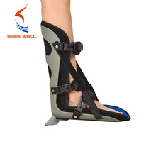 Adjustable night splint ankle foot orthosis
