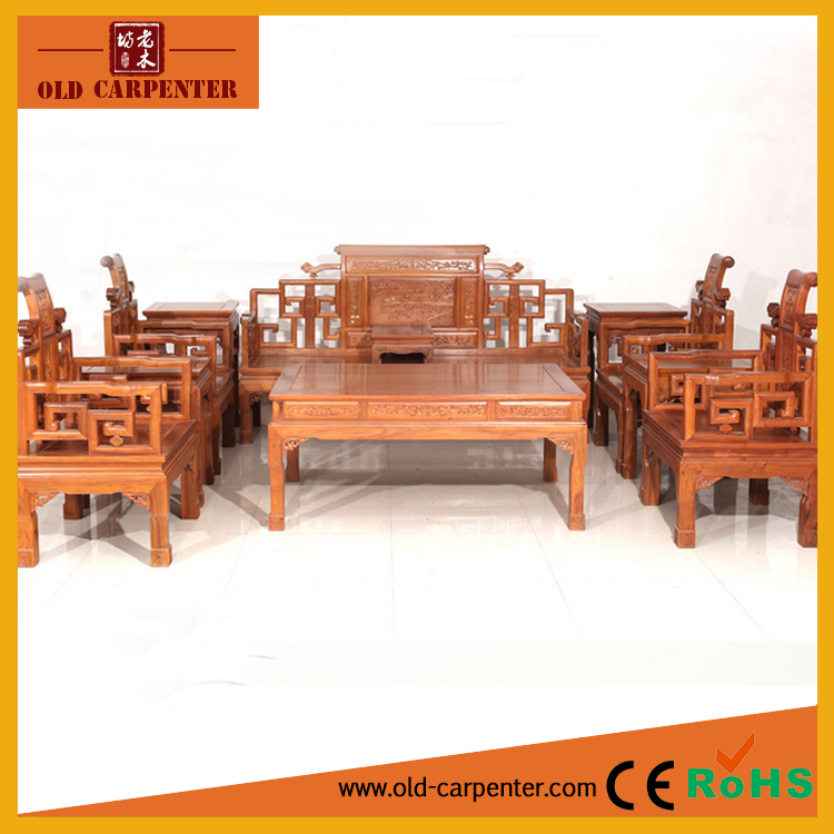 2016 New Design Solid Wood Furniture Chinese Style Eleven Piece In A Set Luxury Wooden Home