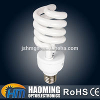 Long working life banquet hall half spiral energy saving bulb