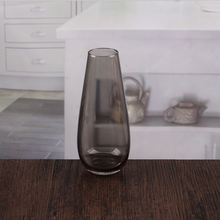 popular model solid color straight cylinder glass vase