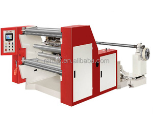 WFQ-1100A computer round knife cutting paper roll rewinder machine