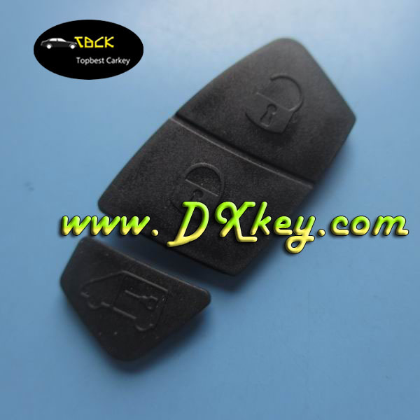 High quality remote key rubber for key fiat 3 buttons fiat key pad