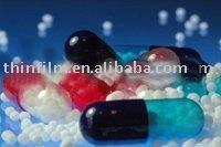 Microsphere for enteric coated capsules