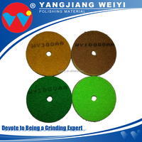 Four color can choice round polishing pads