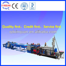 PP PC hollow grid plastic sheet extrusion machine