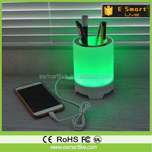 sensor touch bluetooth speaker multi function battery operated floor lamps double shade table lamp shadeless table lamps