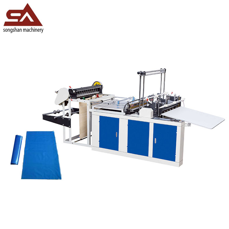Cold cutting stepping motor vest bag making machine