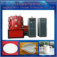 sale PVD coating machine for crystal throwing bricks to plated gold silver