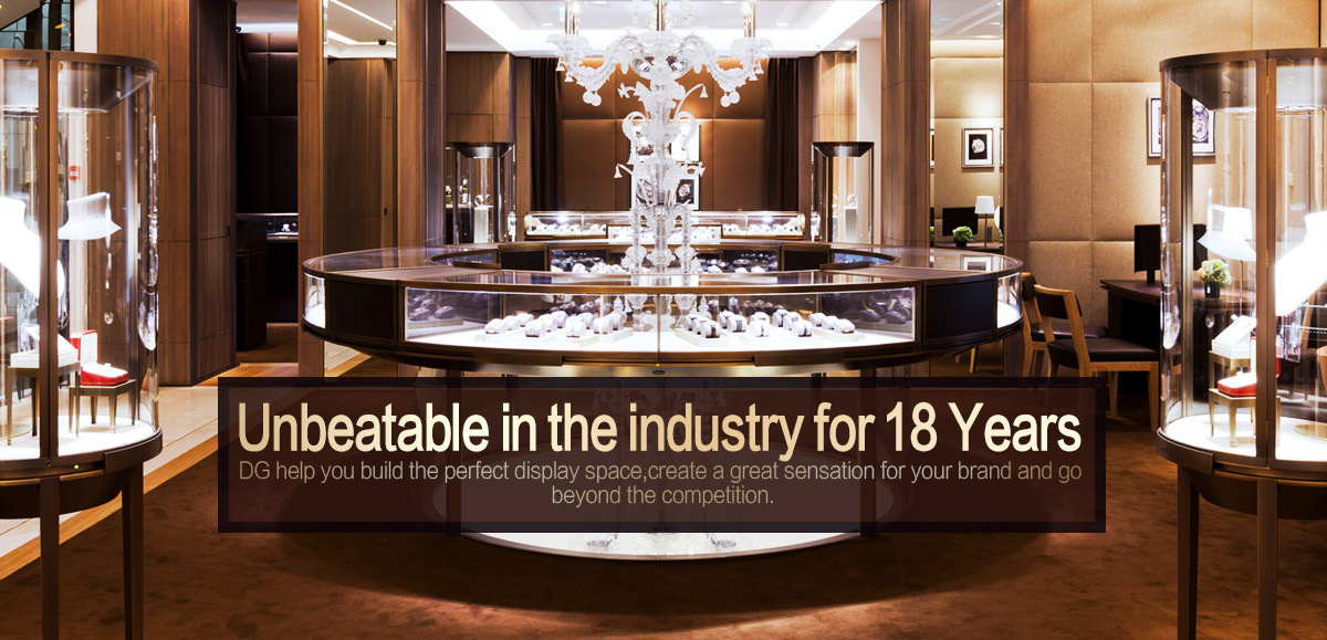 Superieur Guangzhou DG Furniture Co., Ltd.   Jewelry Showcase, Garment Shop Furniture