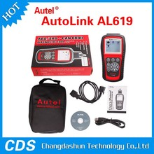 Top-Rated Auto diagnostic Code reader Autel AutoLink AL619 scan tool with ABS and SRS