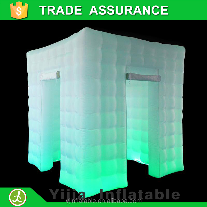 digital camera machine enclosure led light inflatable cheap photo booth